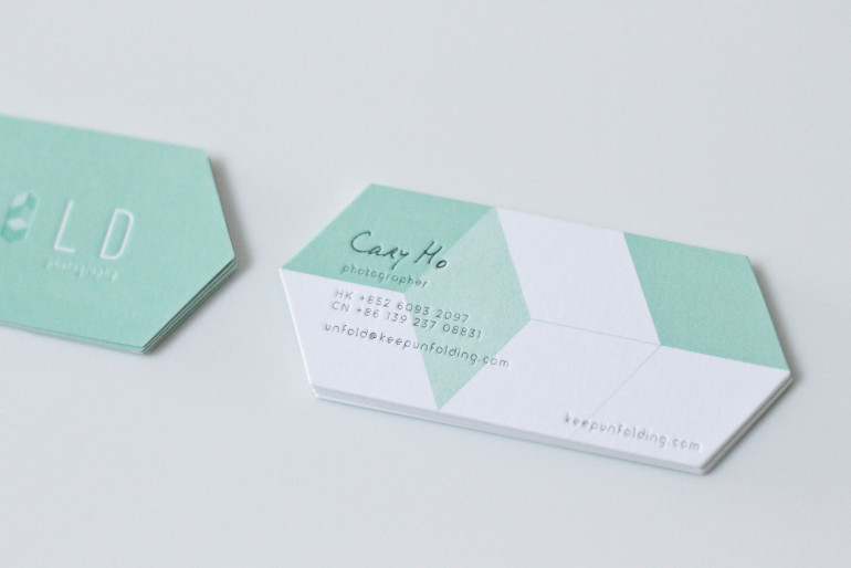 Unique Custom Shaped Business Cards – Unfold