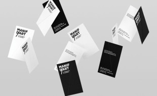 Unique Folded Business Cards - Manif Dart 2