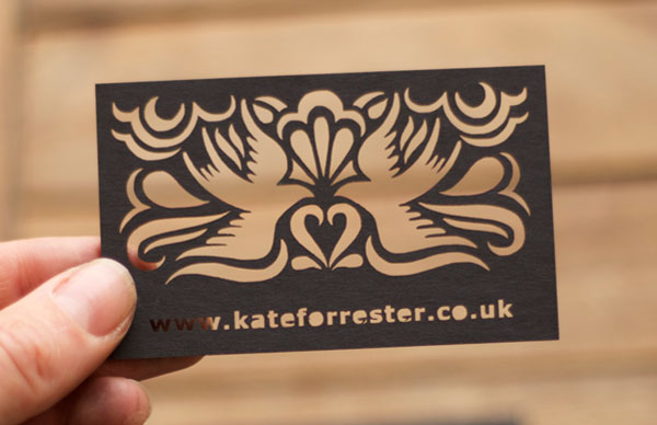 Pics s Laser Cut Wooden Business Cards Are A Quick