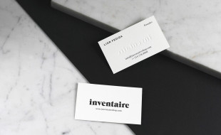 Minimalistic Business Card - Inventaire 2