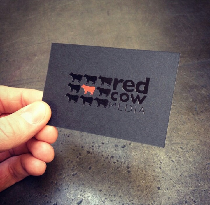Cool Business Card - Red Cow Media 2