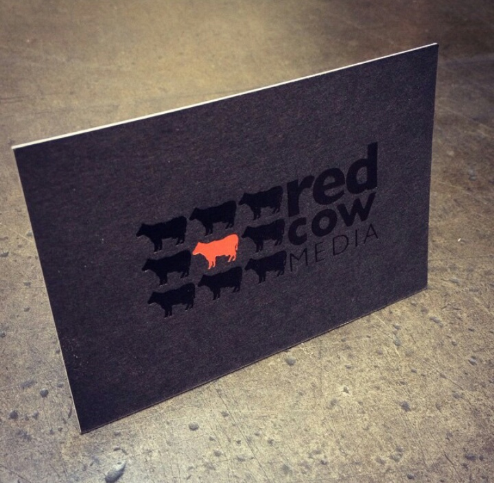 Cool Business Card - Red Cow Media