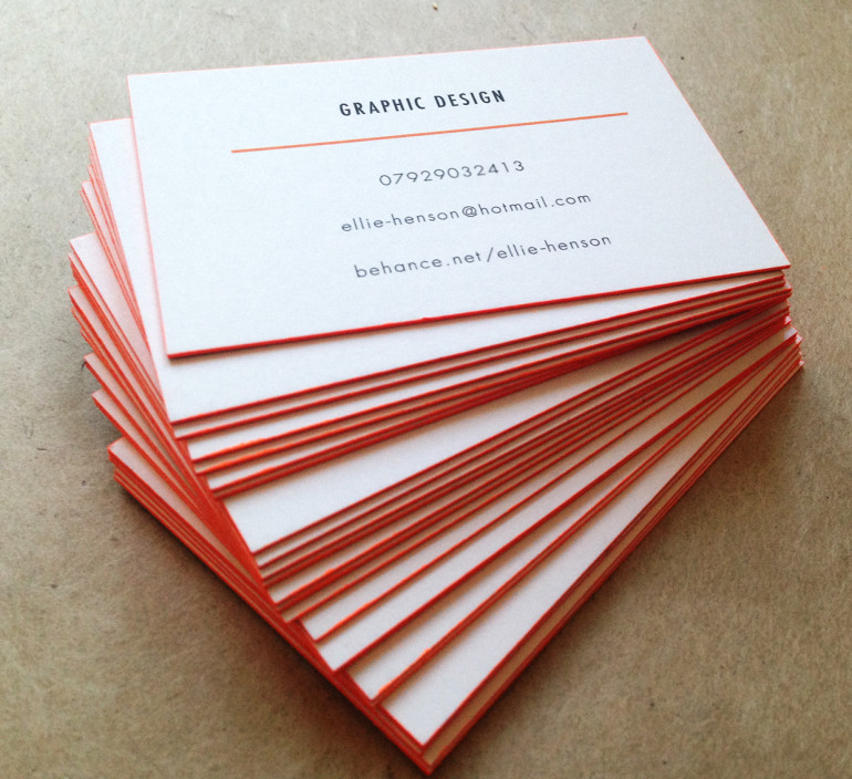 Cool Edge Painted Business Cards - Ellie Henson3