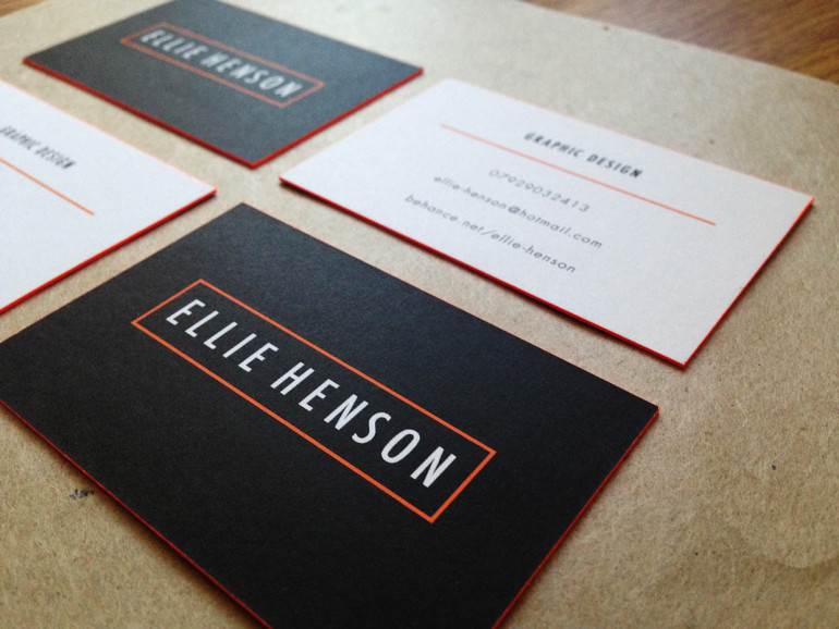 Cool Edge Painted Business Cards - Ellie Henson4