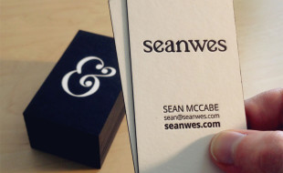 Letterpress business cards cardrabbit part 3 cool edgepainted business cards seanwes reheart Gallery