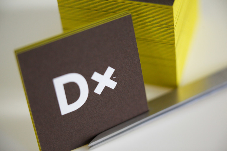 Cool Square Letterpress Business Cards - Done10