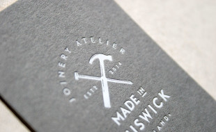 Custom Letterpress Business Cards - Made in Chiswick 2