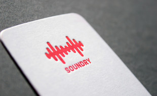 Rounded Letterpress Business Cards - Soundry 2