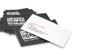 Cool Business Cards - Chopping Board