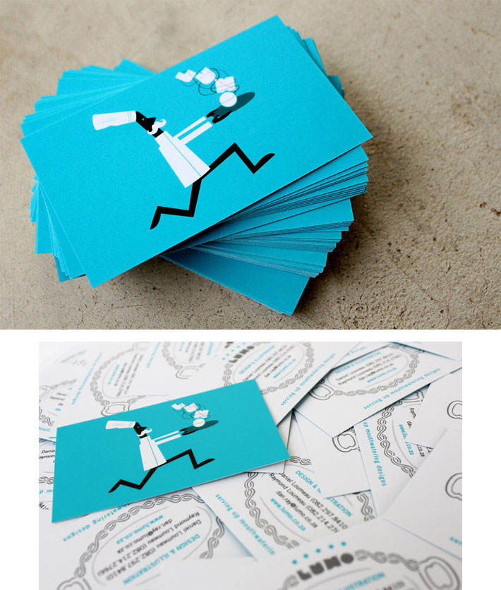 21 Unique Illustrated Business Cards | CardRabbit.com