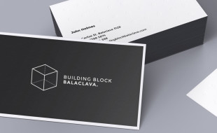 Custom Business Cards - Building a Block Balaclava