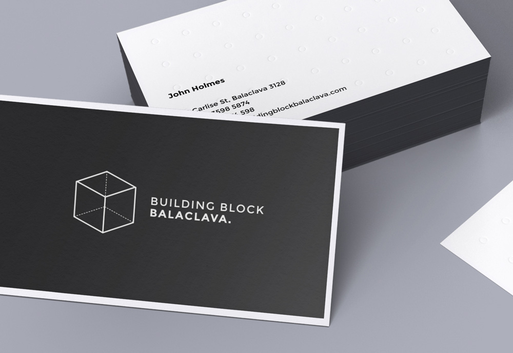 Custom Business Cards – Building a Block Balaclava | CardRabbit.com