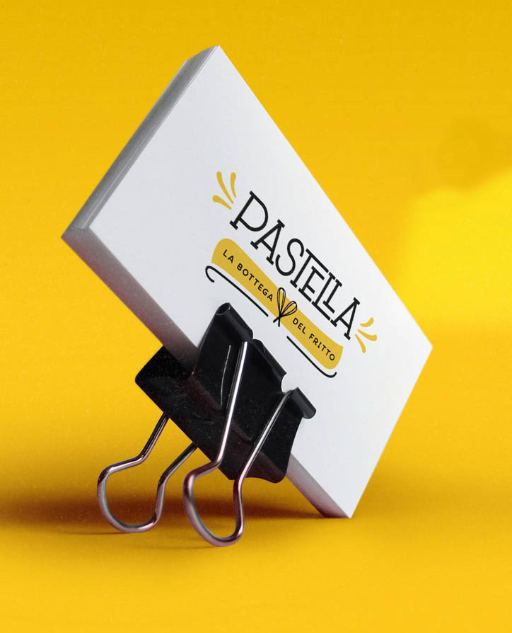 Beautiful Custom Business Card - Pastella