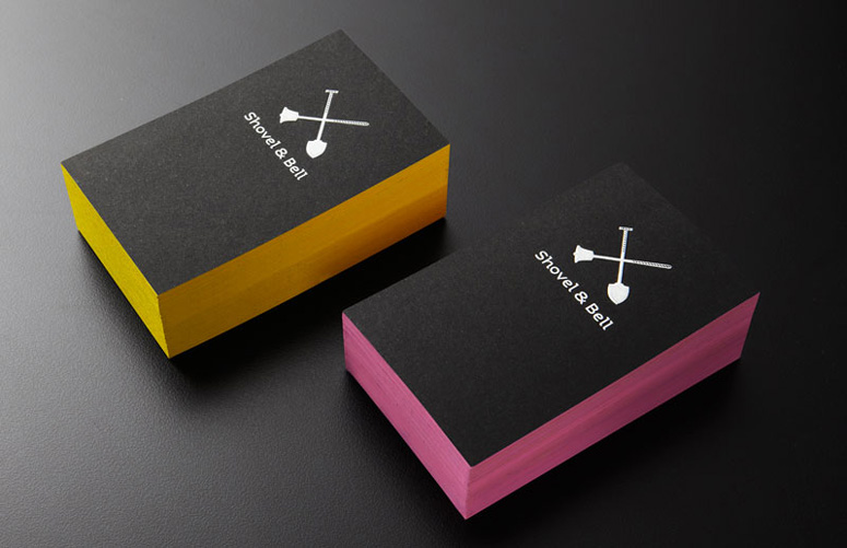 Cool Business Card – Shovel & Bell