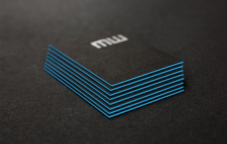 Cool Triplexed Business Cards - Martin Walker 2