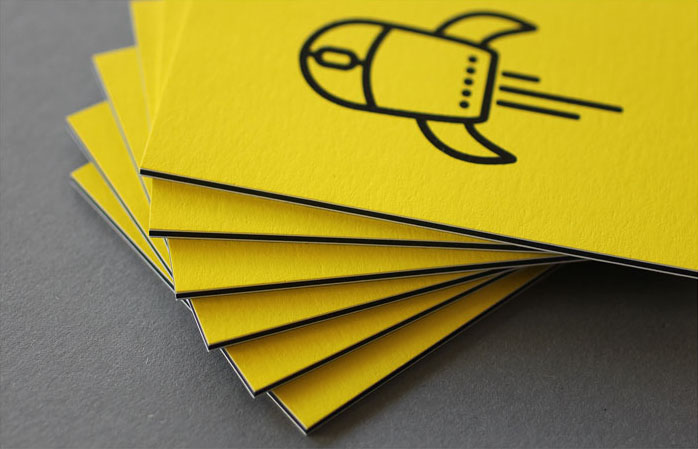Cool Triplexed Business Cards - Netshape
