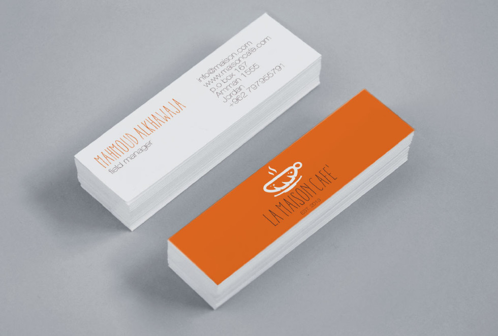 Business cards la image collections card design and card template mini business cards la maison cafe cardrabbit mini business cards la maison cafe reheart image collections reheart Gallery