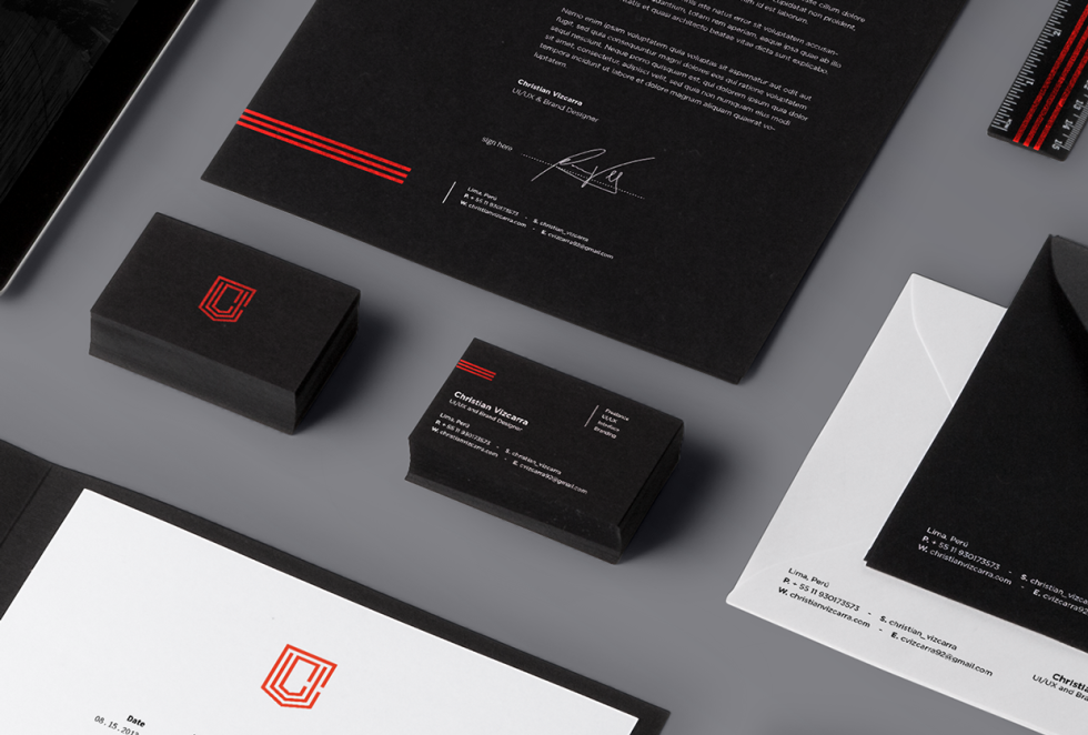 Cool Business Card Design - Christian Vizcarra 2