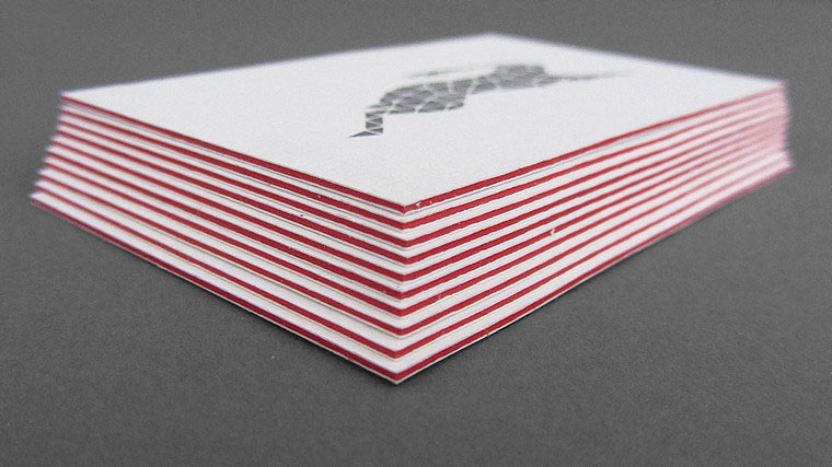 Cool Triplexed Silver Foil Business Cards - Ignitec 3