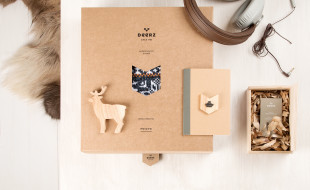 Cool Business Card - Deerz - Packaging