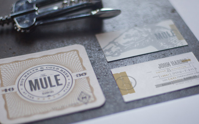 Cool Business Card - The Mule