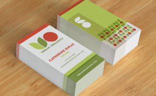 Custom business cards cardrabbit custom business card design urban organics colourmoves
