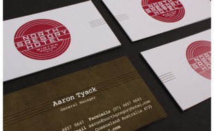 Custom Business Card - North Gregory Hotel