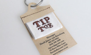 Custom Business Card - Tip Toe
