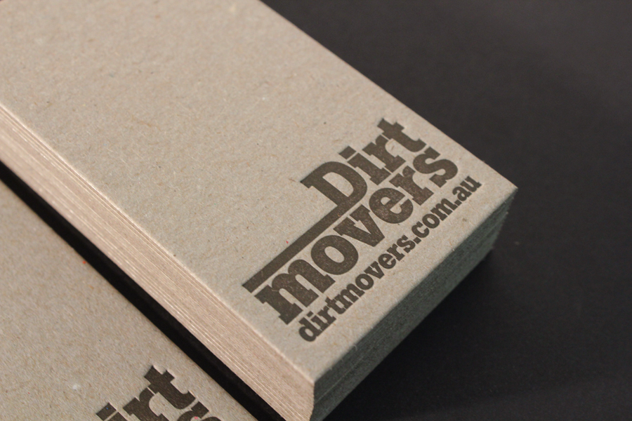 Uniquely Cool Business Cards - Dirt Movers