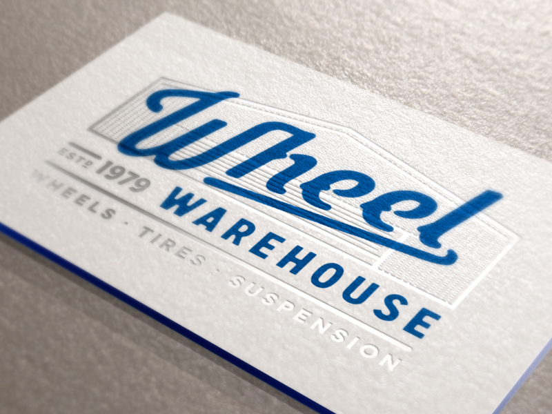 Beautiful Letterpress Business Cards - Wheel Warehouse