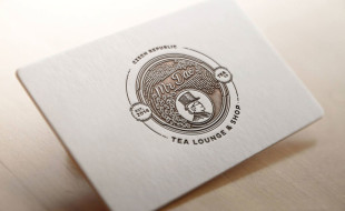 Gorgeous Letterpress Business Card - Mr Dao