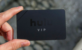 Hulu VIP Black Metal Business Cards