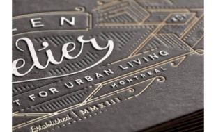 Luxury Business Card - Citizen Atelier 2