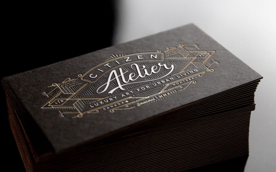 Luxury Business Card – Citizen Atelier