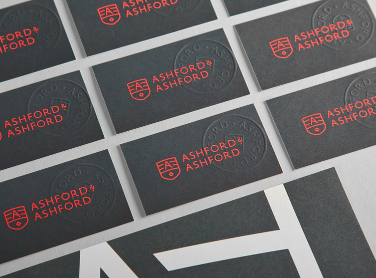 Unique Business Cards - Ashford and Ashford 3