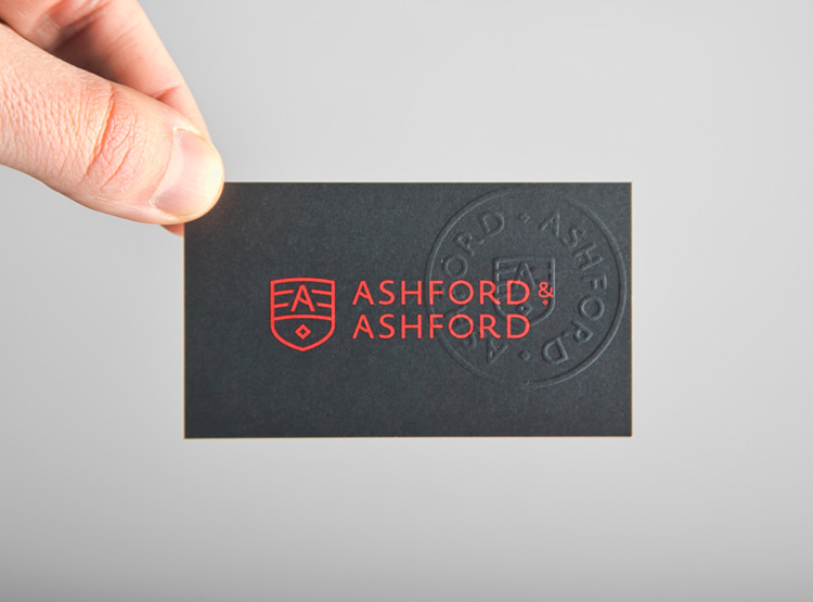 Unique Business Cards - Ashford and Ashford