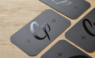 Cool Spot UV Business Card - CP