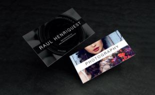 Creative Business Card Design - Photography